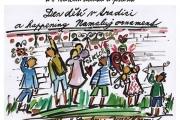 Den dětí v tradici a happening namaluj ornament